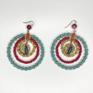 Like NEW!! Beaded earrings